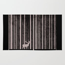 To scan a forest. Rug