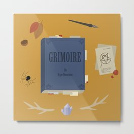 Grimoire Metal Print
