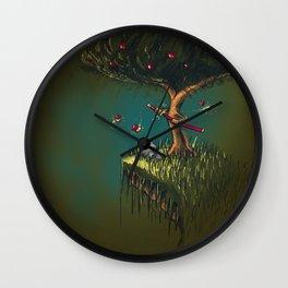 Apple Ninja Wall Clock