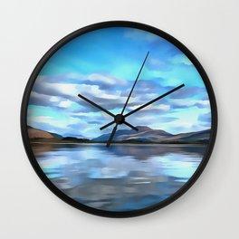 Loch Lomond (Painting) Wall Clock