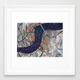 River 2 Framed Art Print