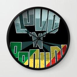 The Congo Pride Loud N Proud Wall Clock
