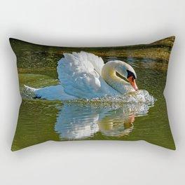 Aggressive Beauty Rectangular Pillow