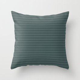 Juniper Berry Green PPG1145-6 Horizontal Stripes Pattern 2 on Night Watch PPG1145-7 Throw Pillow
