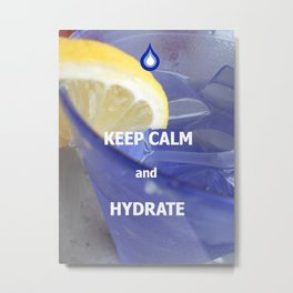 Hydrate Metal Print