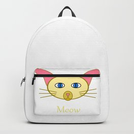 Siamese Cat, Meow Backpack