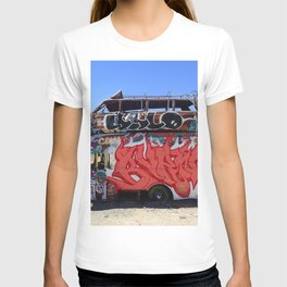 Box truck limo art T-shirt
