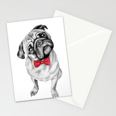 Percy Pug Stationery Cards