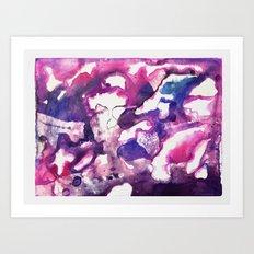 Brain of the Artist Art Print