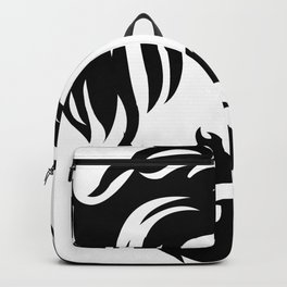 hair and beard style Backpack