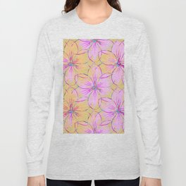 Flower Sketch Long Sleeve T-shirt