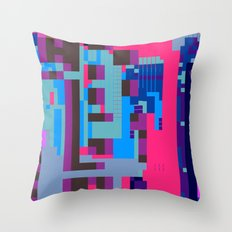 tcanvasmosh45 Throw Pillow