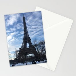 Paris in Winter Stationery Cards