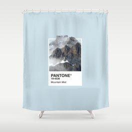 Pantone Series – Mountain Mist Shower Curtain