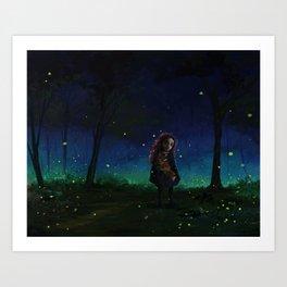 Woodland Adventure Art Print