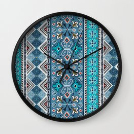 Grand Bazaar - Blue Wall Clock