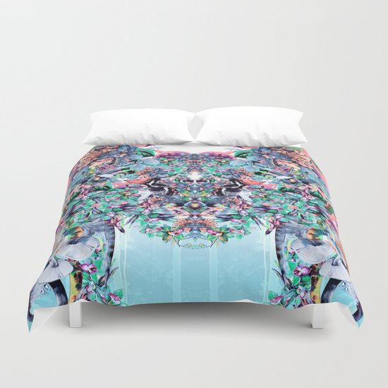 Botanical IV Duvet Cover