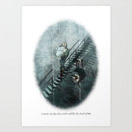 Behind You 24 Art Print