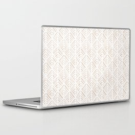 Abstract Leaf Pattern in Tan Laptop & iPad Skin
