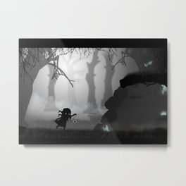 Enchanted Forest - 01 Metal Print