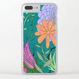 Botanicals Clear iPhone Case
