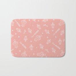 Love Potion (Pattern: Pink) Bath Mat