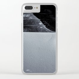 Rubber Tire Division Clear iPhone Case
