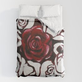 War of Roses Painting Comforters