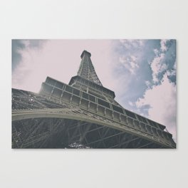 Eiffel Tower in Paris, France. Landmark in France Canvas Print