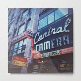 Central Camera Chicago Metal Print