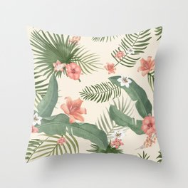 Floral Art #3 Throw Pillow