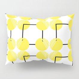 pattern circulos amarillos Pillow Sham
