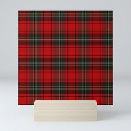 Christmas Tartan Plaid Mini Art Print