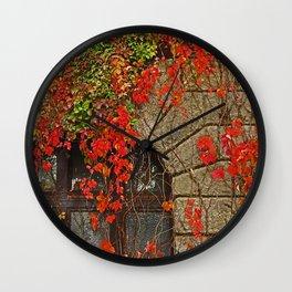 fairy-tale castle Wall Clock
