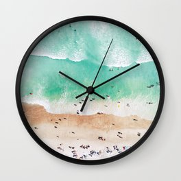 Beach Mood Wall Clock