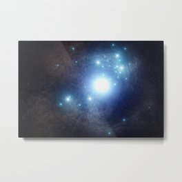 64. Finding an Elusive Star Behind a Supernova Metal Print