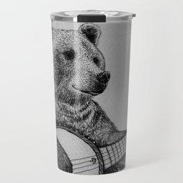 Grizzly Bear Travel Mug