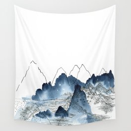 Love of Mountains Wall Tapestry