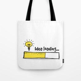 Idea Loading Tote Bag