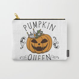 Halloween pumpkin gift costume idea quote saying Carry-All Pouch