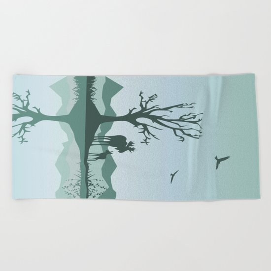 My Nature Collection No. 37 Beach Towel