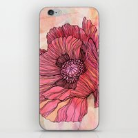 poppy iPhone & iPod Skins featuring Poppy by Annike