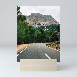 Road to Serra de Tramuntana Mini Art Print