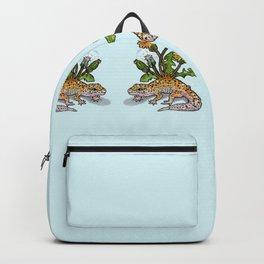 Saur - Leopard Gecko.2 Backpack