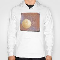 asian Hoodies featuring Asian Pear by Lyssia Merrifield