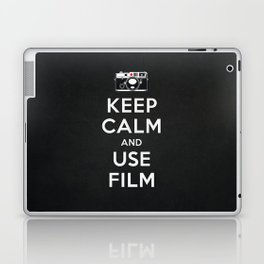 Keep Calm And Use Film Laptop & iPad Skin