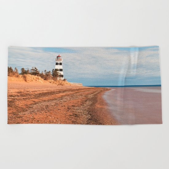 PEI West Point Beach Towel