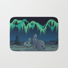 Tribal Bear Art Bath Mat
