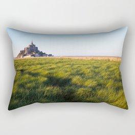 Mont Saint-Michel Rectangular Pillow