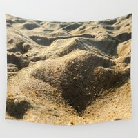 sand Wall Tapestries featuring Sand by Ethan Bierly